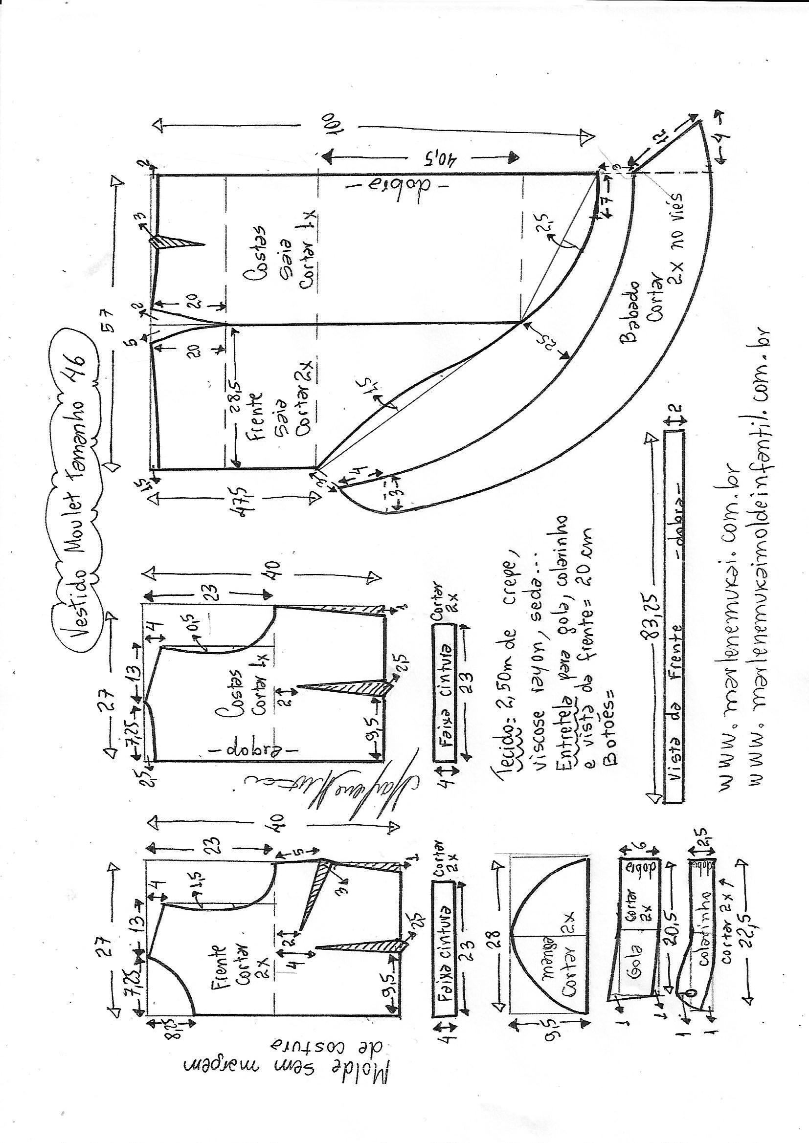 Pin de mary en Blusas bariadas   Pinterest   Costura, Vestidos y ...