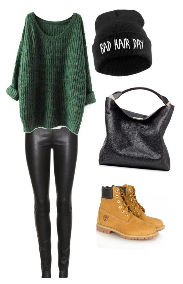 """Untitled #24"" by megsgalley on Polyvore featuring The Row, Timberland, Burberry, women's clothing, women's fashion, women, female, woman, misses and juniors"