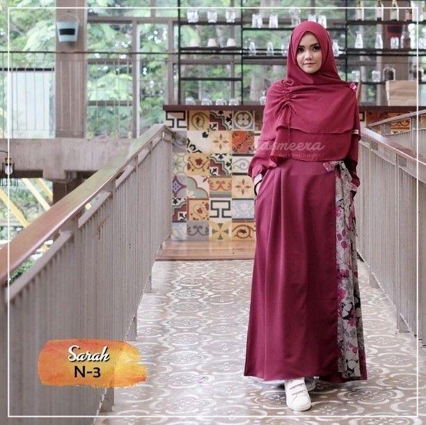 Gamis Yasmeera Sarah Series N3 Baju Gamis Wanita Busana