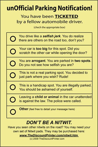 how to not pay a parking ticket