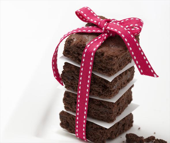 Delicioso brownie de chocolate para San Valentín - Receta
