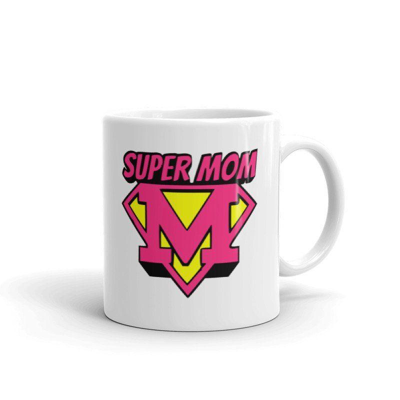SuperMom Mothers Day//Birthday Mug