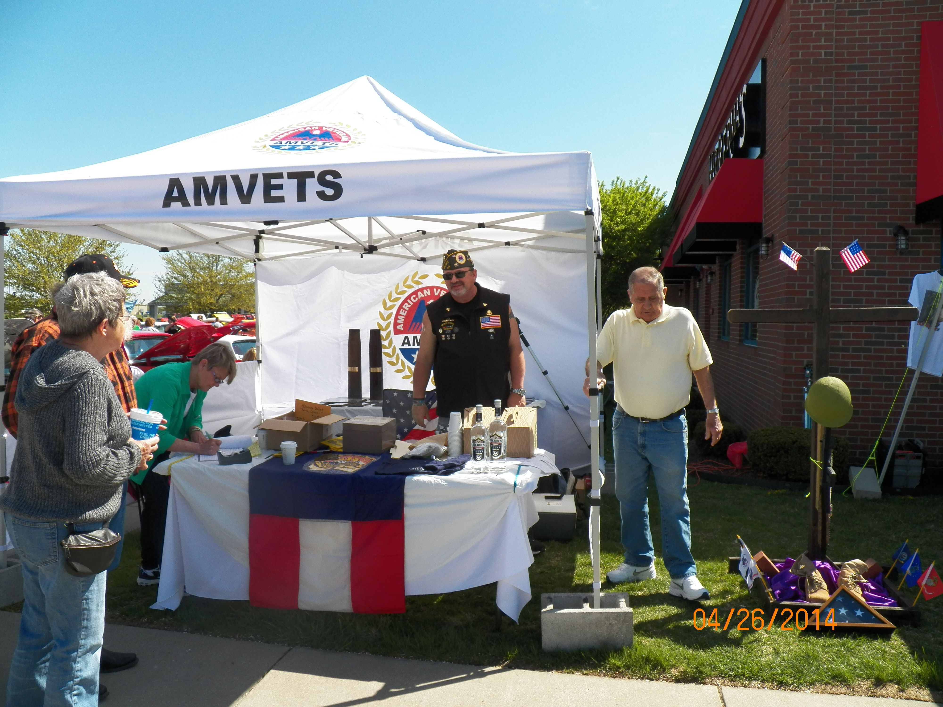 Moving and need to donate stuff? Call AmVets they can pick