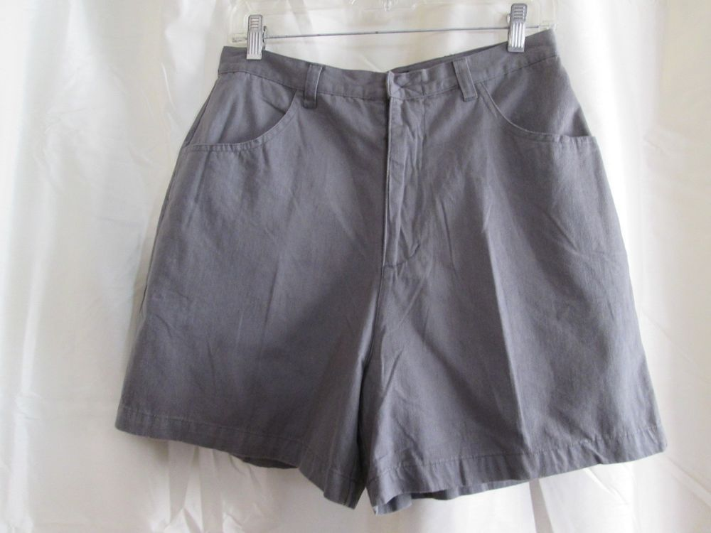 Mercantile Ms Cyber Womens Shorts Size 10 Gray Cotton Inseam 4.5 ...