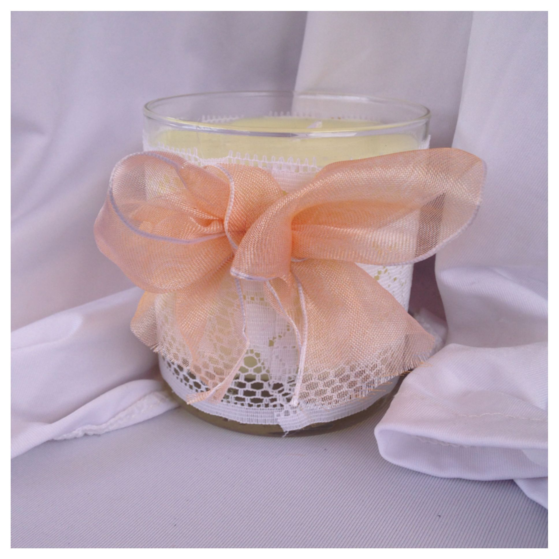 Gardenia!!!Lilac!!! Jasmine!!! Eucalyptus Leaf and Mint!!Patchouli!!French vanilla and Amber and more strong fragrances Soy Candles in decorated jars with laces! Ribbons!! Burlap!! Twine and more embellishments.  Relax!!! And take time for you !!! With our delicious and amazing fragrances...www.mappicandles.etsy.com