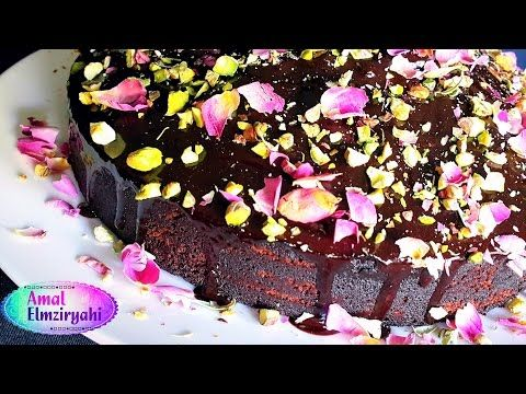 طريقة عمل كيكة الشوكولاته سهلة و سريعة Easy Chocolate Cake Food Desserts Cake