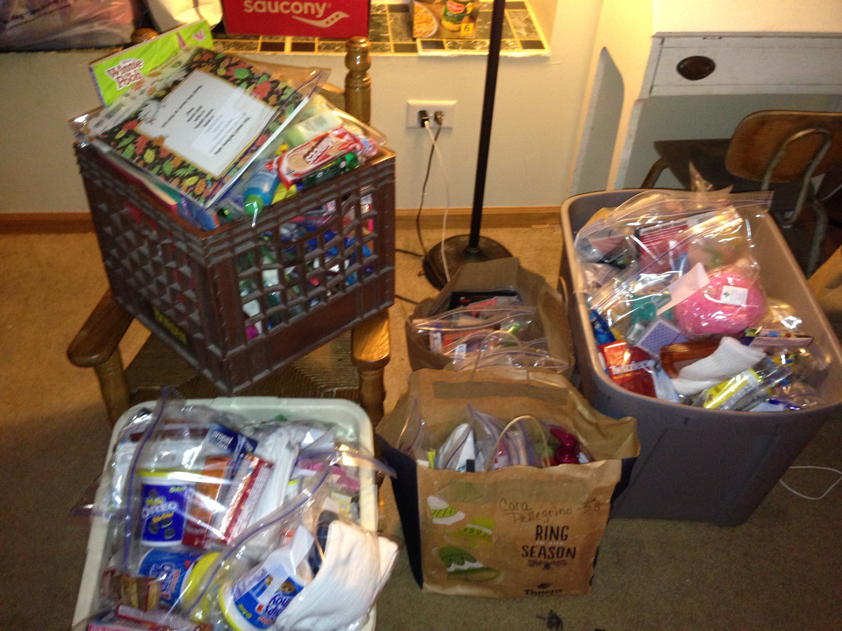 Care Packages For The Tornado Victims In Oklahoma