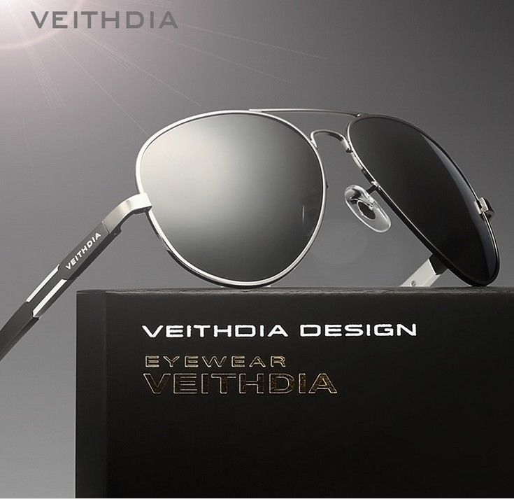 c5d2d56da2 Uv400 Veithdia Mens Aviator Polarized Sunglasses Driving Sports Sun Glasses