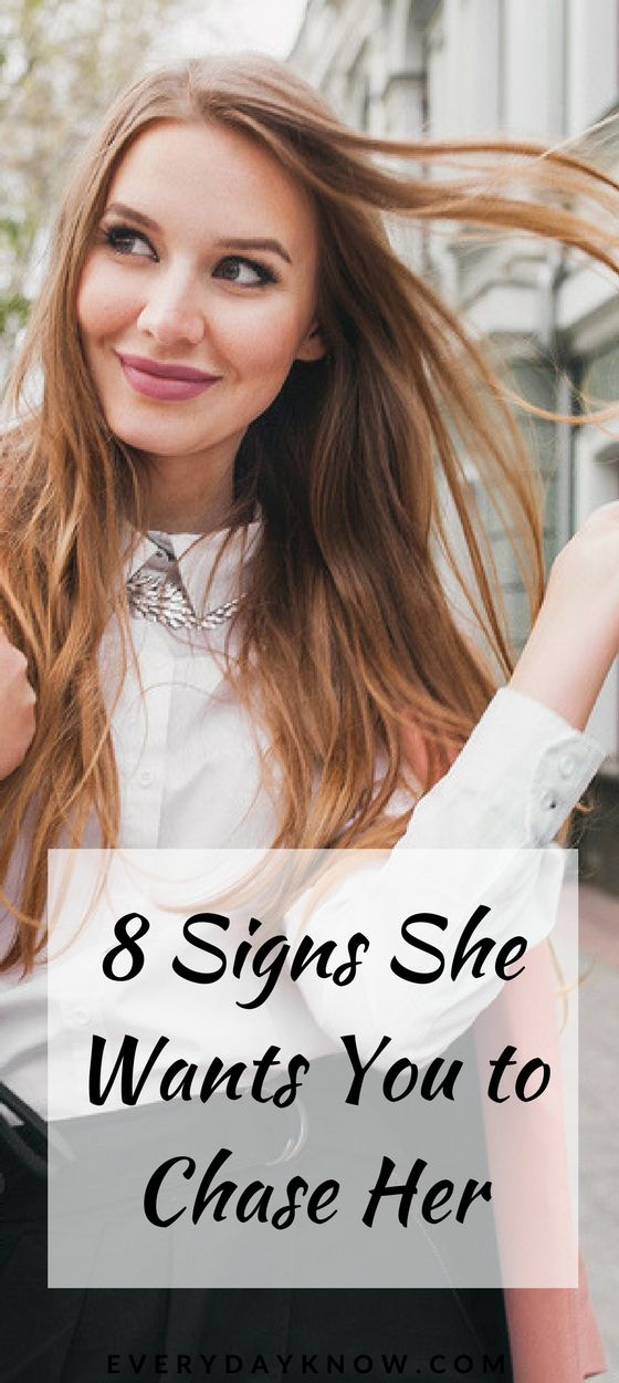 8 Signs She Wants You to Chase Her | Love & Relationship