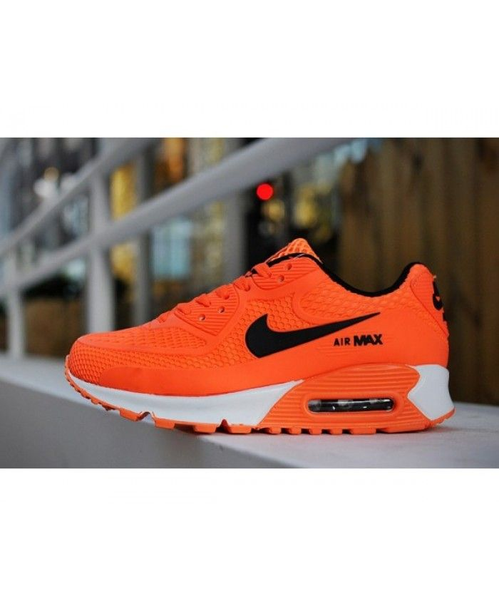 buy popular 9da6a 1972b Kids Nike Air Max 90 Orange 6809331-036