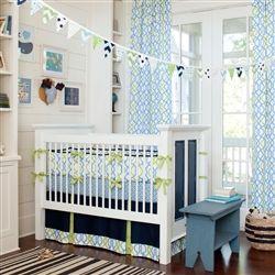 Blue Crib Bedding