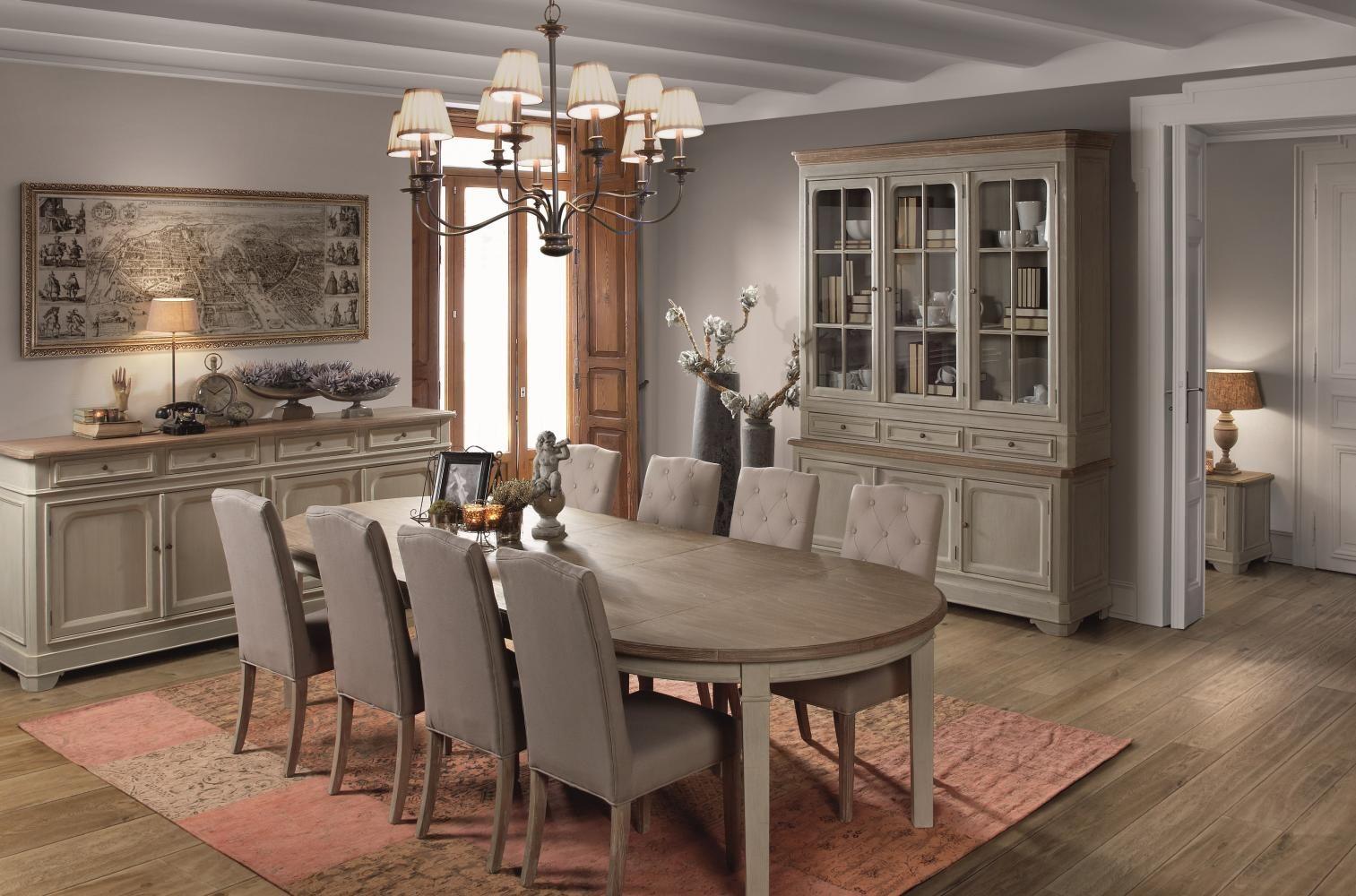 Eetkamer landelijke stijl inspiratie voor landelijk interieur interior mijn woonstijl - Eetkamer deco ...