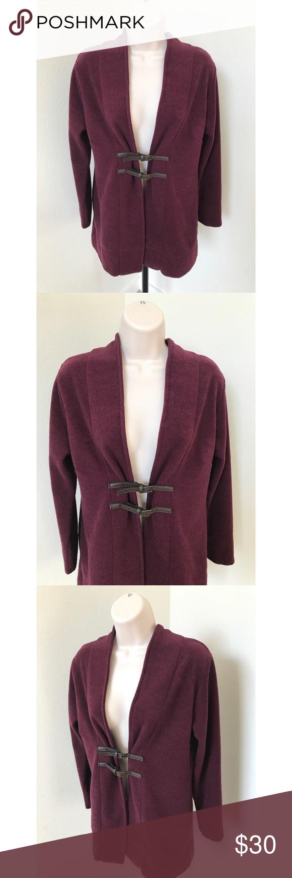 Soft Surrounding Purple Sweater Jacket Petite | Soft surroundings ...