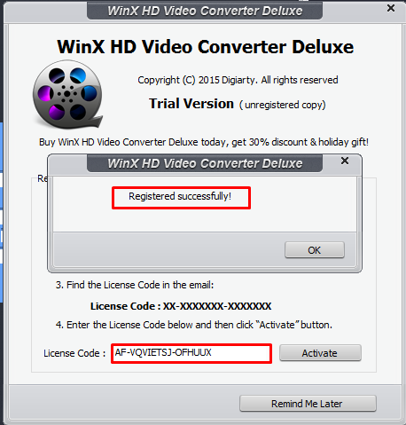 Winx Hd Video Converter Deluxe Free License Code Download