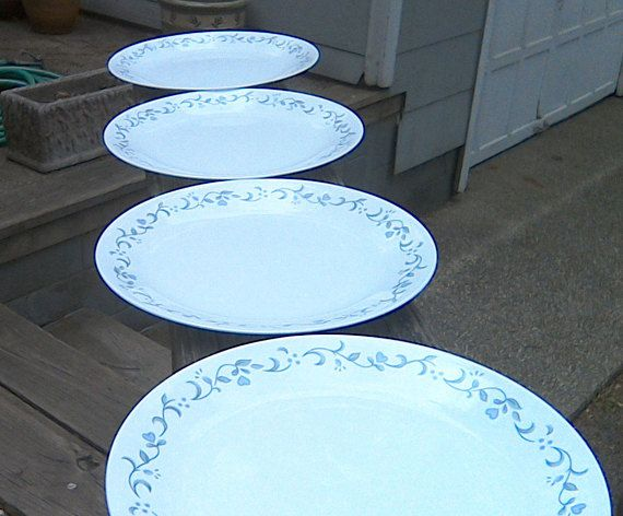 Corelle Country Cottage Dinner Plates MINT CONDITION Corelle & Corelle Country Cottage Dinner Plates MINT CONDITION Corelle | Plate ...