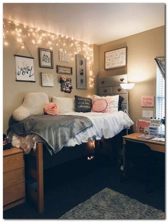 36 Best DIY Dorm Room Storage and Decoration Ideas on A Budget - Kim -