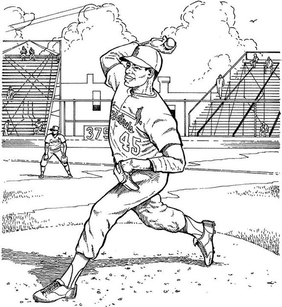 Werewolf Coloring Pages Google Search Baseball Coloring Pages St Louis Cardinals Cardinals Baseball