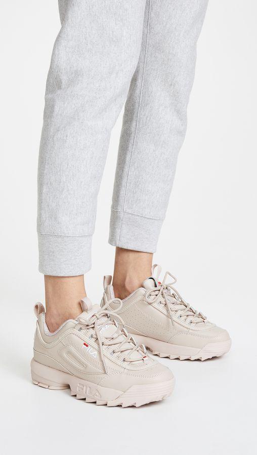 Fila Disruptor 2 Premium Sneakers Womens Fashion Sneakers e73b7e0f9