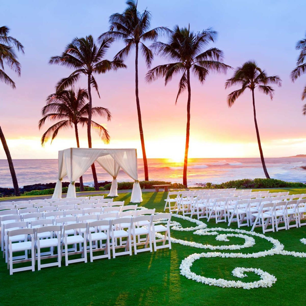 Hawaii Wedding Venues for Any Budget in 2020 Sunset