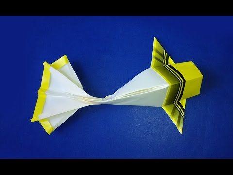 How To Make Origami Koi Origami Fish Easy Paper Fish Youtube