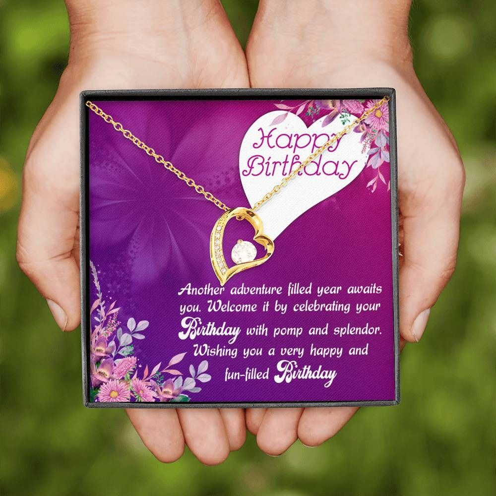 Beautiful birthday gift with message card new fashion