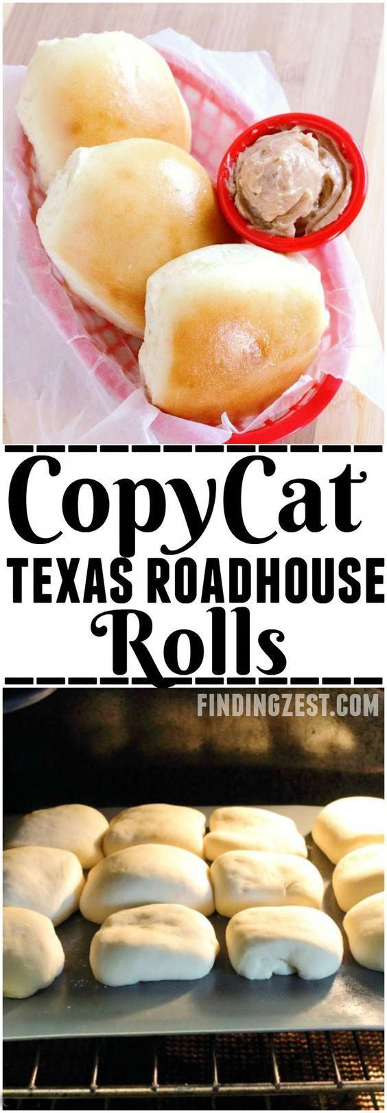 Photo of Copycat Texas Roadhouse Rolls and Cinnamon Butter Recipe