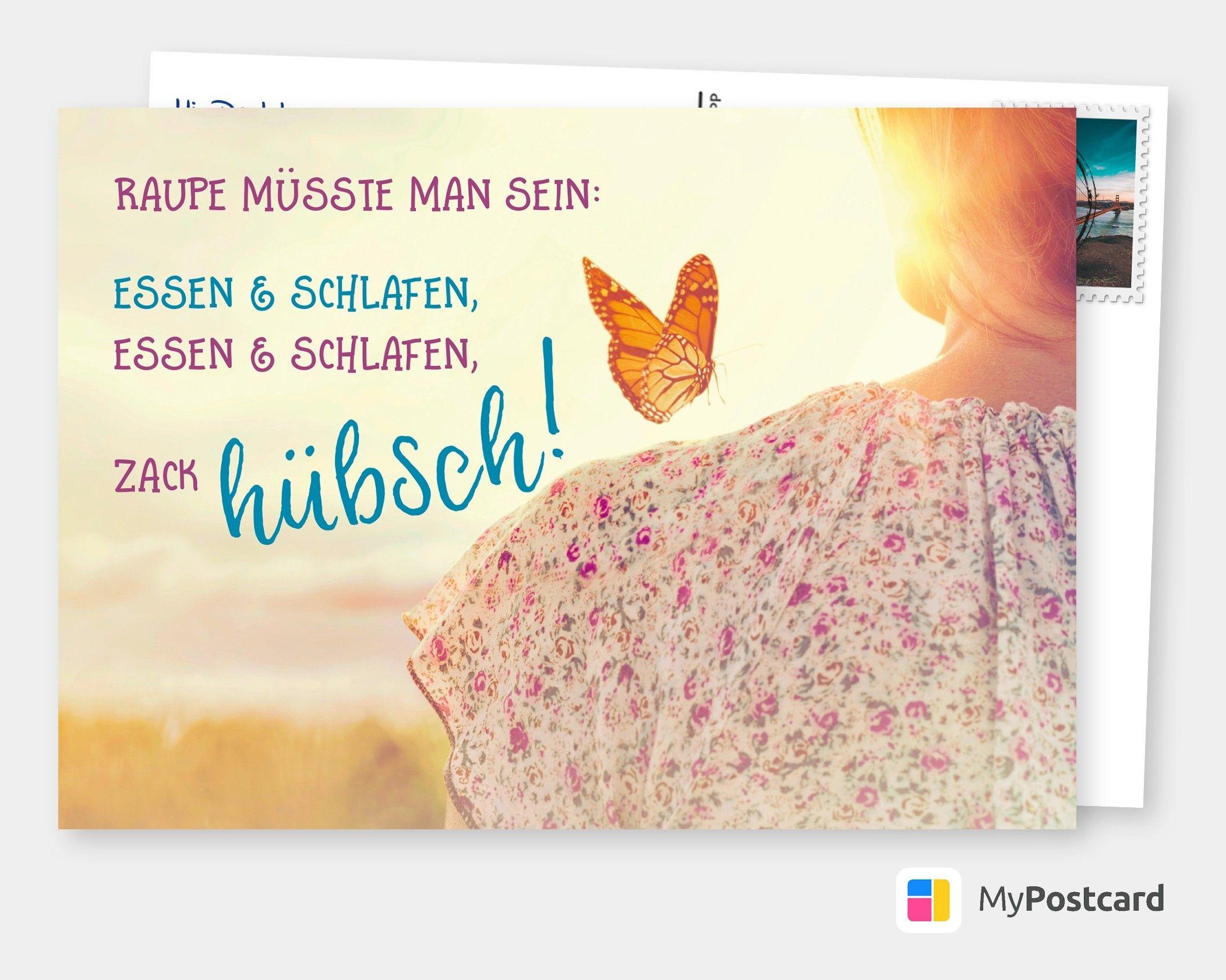 Postkarte Spruche Humor Wer Schon Sein Will Muss Lachen