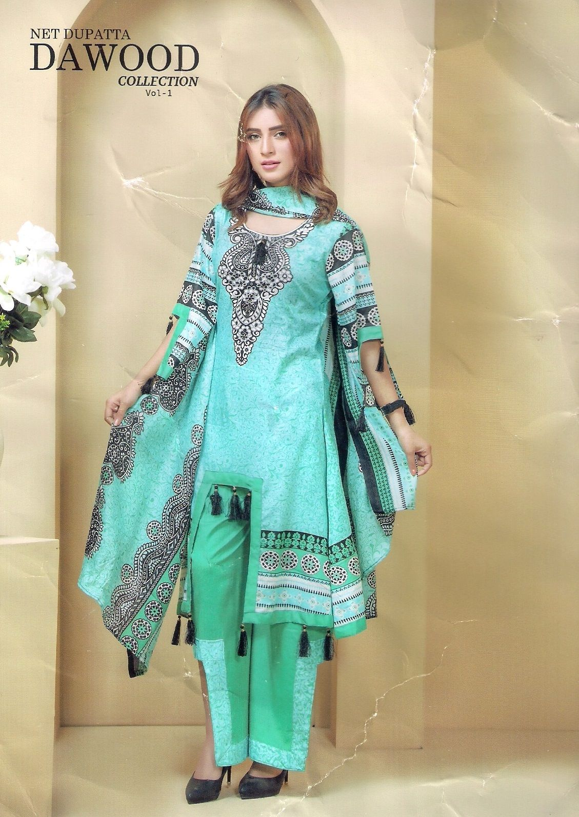 18e82295ba dawood Luxury Lawn 2018 – Pakistani Suits AVAILABLE ON WWW.KASHMARTS.COM  PRICE 1120