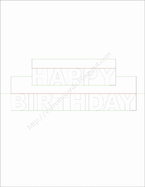 Pop Up Birthday Card Template Elegant Happy Birthday Pop Up Card Birthday Card Template Birthday Cards Card Template