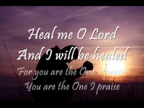 Healing worship songs