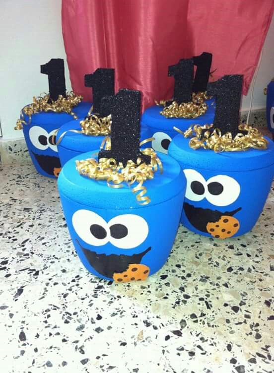 Hielera Cookie Monster Hieleras Fiestas Boys 1st