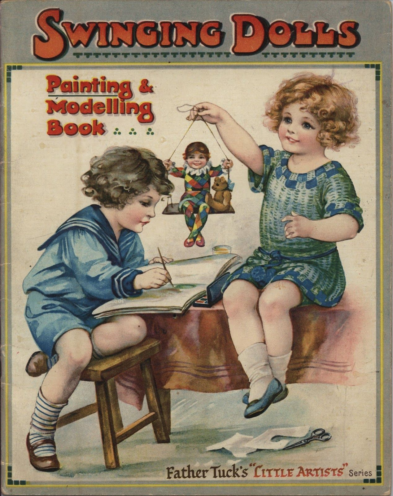 Tuck's Swinging Dolls Painting & Modeling Book Book