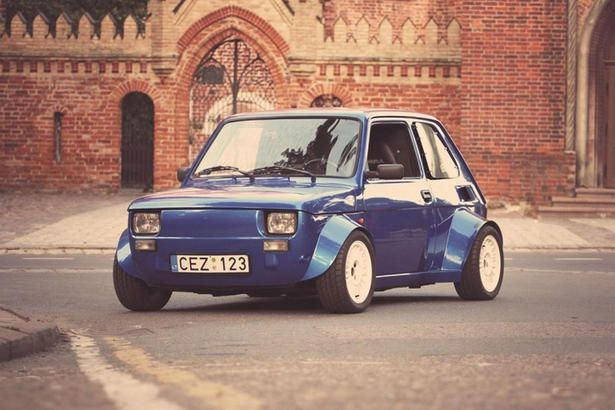 Fiat 126p Gets Honda Vtec Turbo Engine Oldtimer