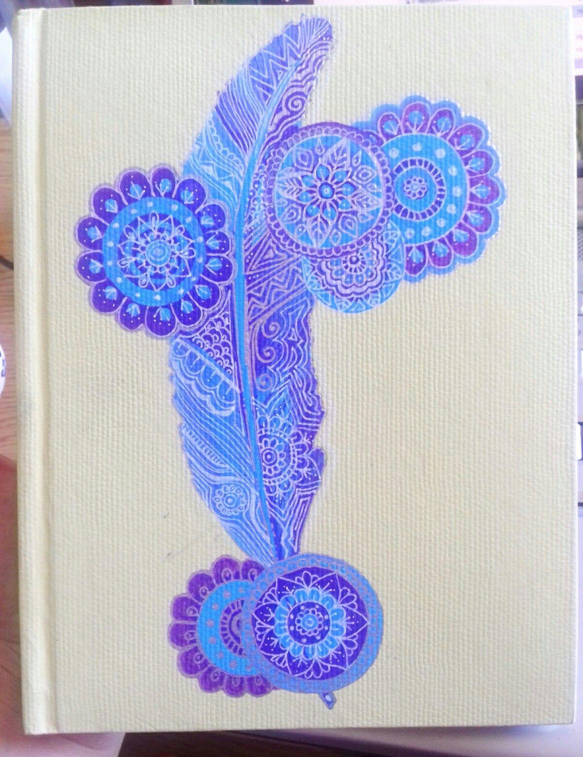 Cuaderno dibujado