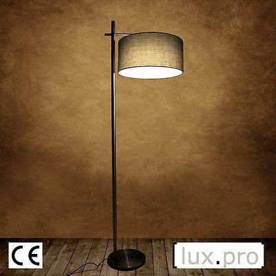 Moderne Stehleuchte Design Stehlampe Lampe Wohnzimmerlampe Leuchte ...