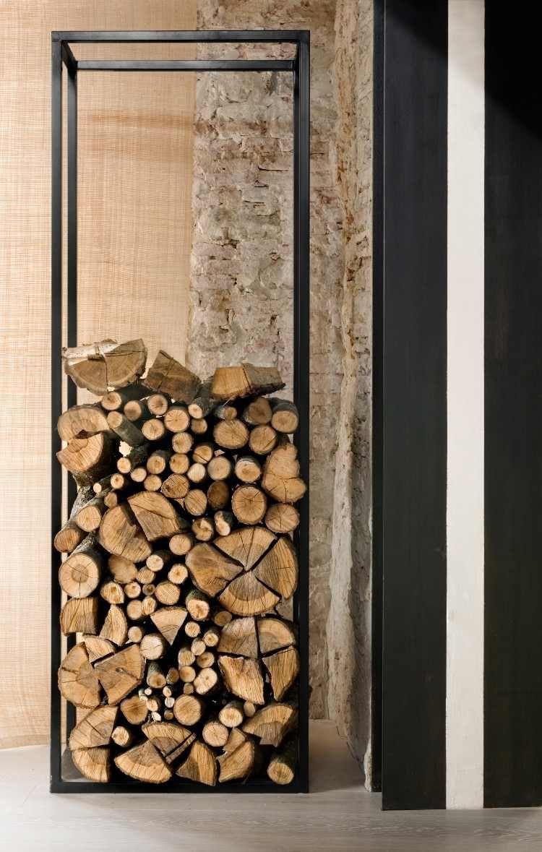 Rangement Pour Le Bois indoor firewood storage: over 40 log rack ideas for storing