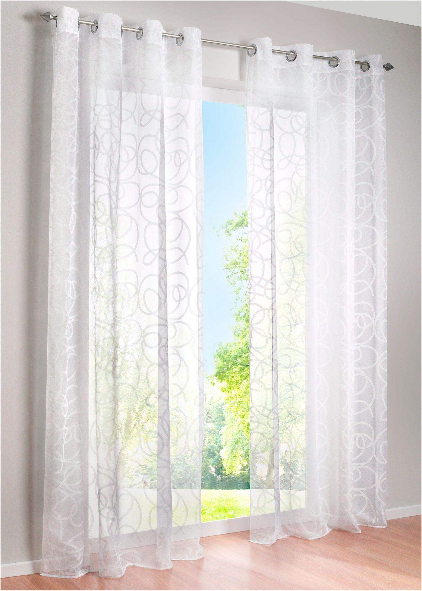 Gardine Im Topmodernen Ton In Ton Design Weiss Osen Gardinen Transparente Gardinen Vorhange Wohnzimmer