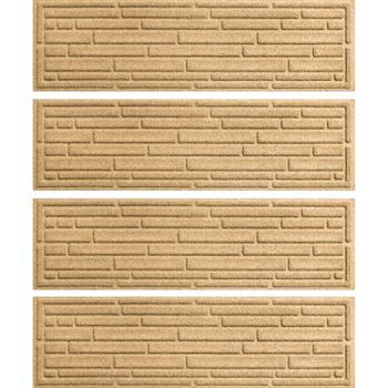 Best Waterguard Broken Brick 4 Pk Indoor Outdoor Stair Treads 640 x 480