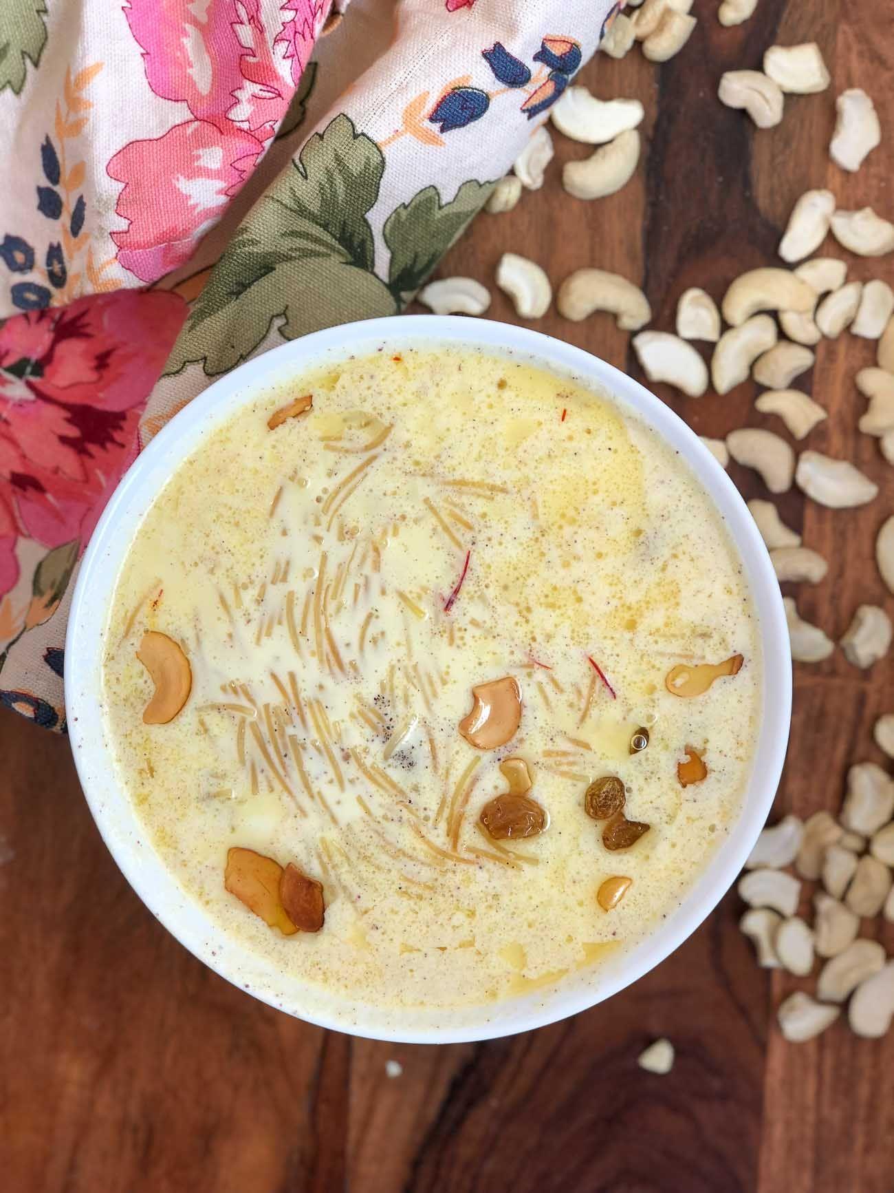 Semiya Payasam Recipe Vermicelli Kheer Recipe Recipe Kheer Recipe Vermicelli Kheer Recipe Recipes