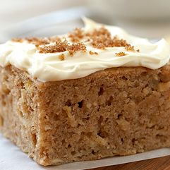 Ed Apple Cake With Brown Sugar Cream Cheese Frosting Is Moist And Delicious It Can