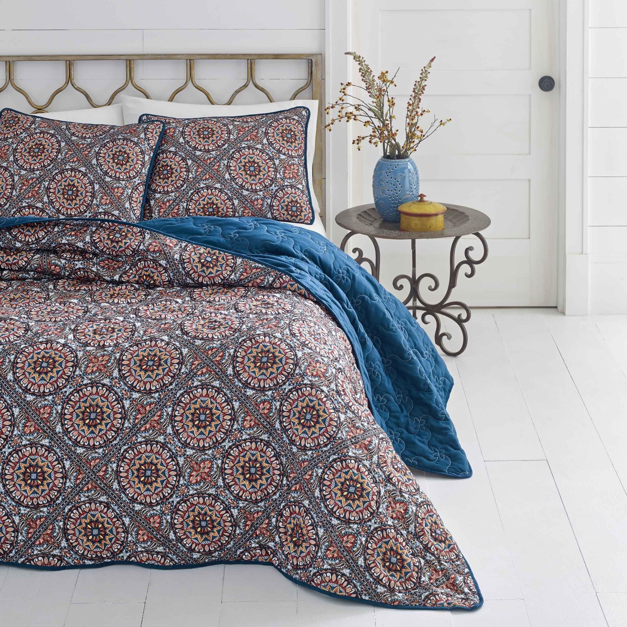 Azalea Skye Sitka Suzani Quilt Set Quilt sets, King size