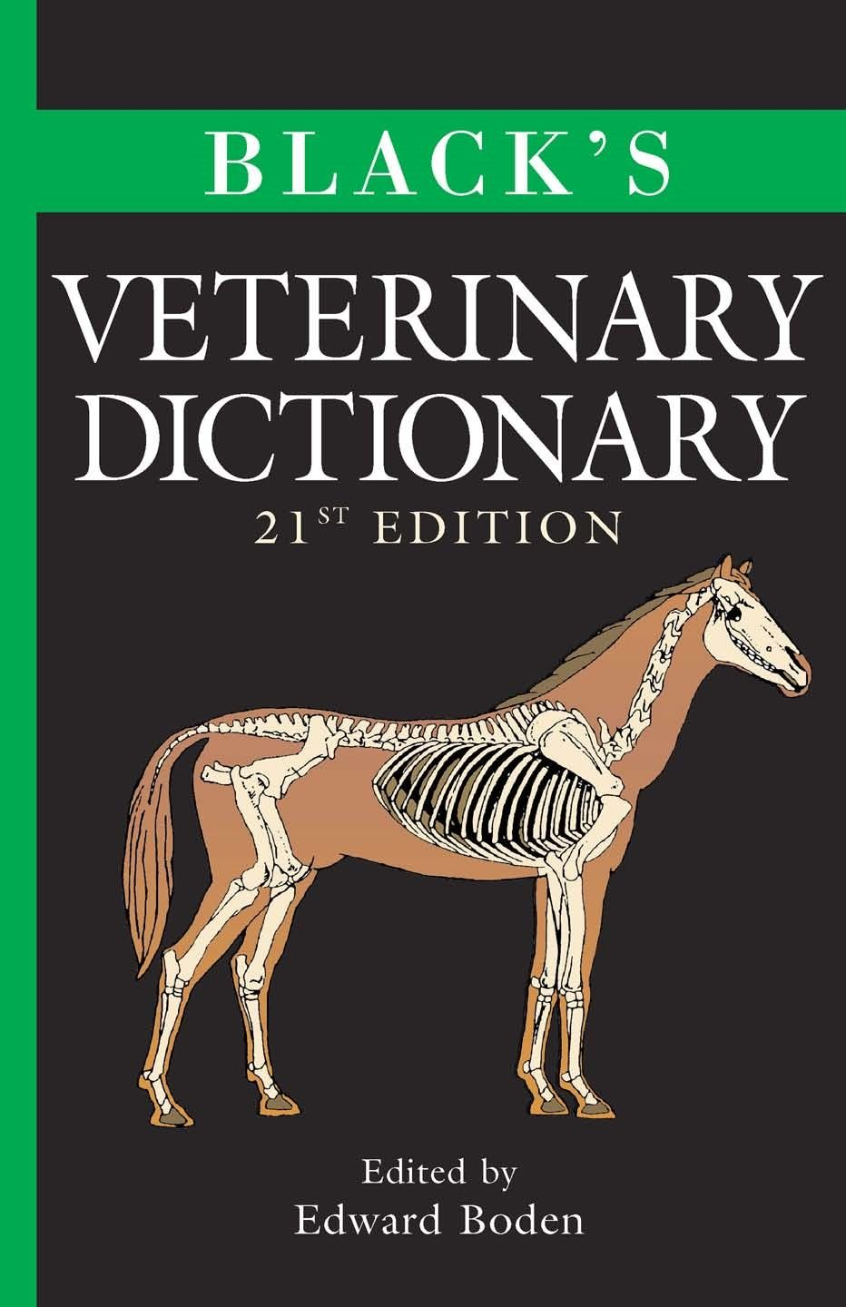 Black's Veterinary Dictionary 21st Edition PDF Download