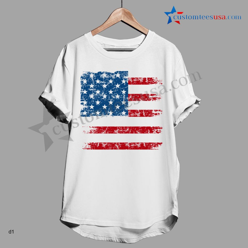 America Quote T-Shirt - Adult Unisex Size S-3XL //Price: $15.89 #tees #girl #summer #spring #beach #adventure
