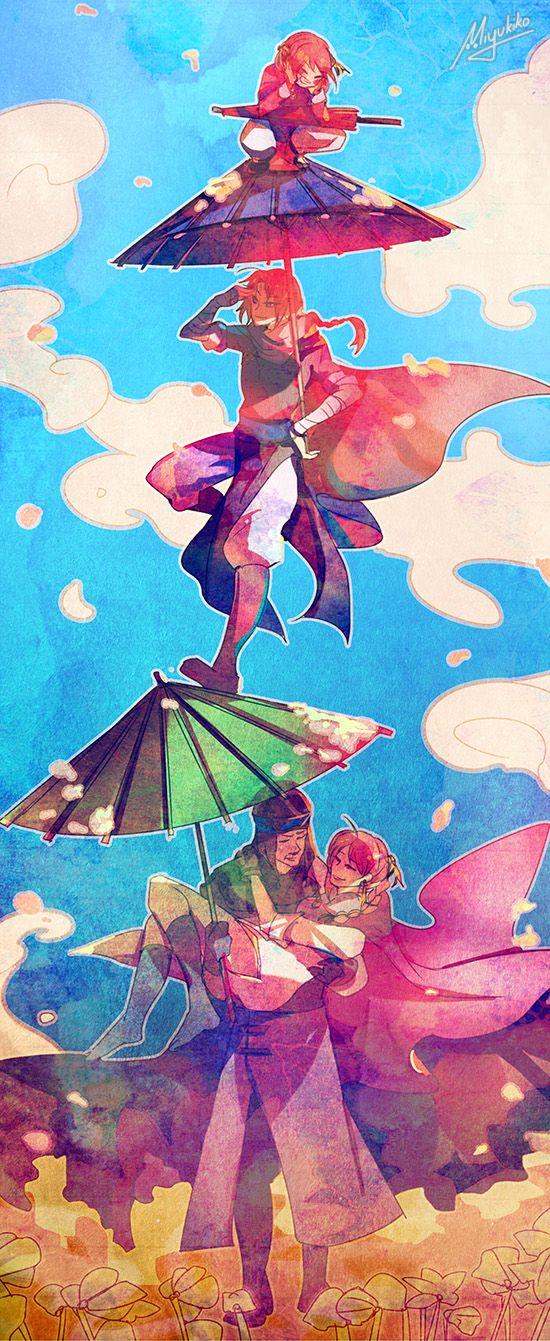 Gintama - Yato Family by Miyukiko on DeviantArt
