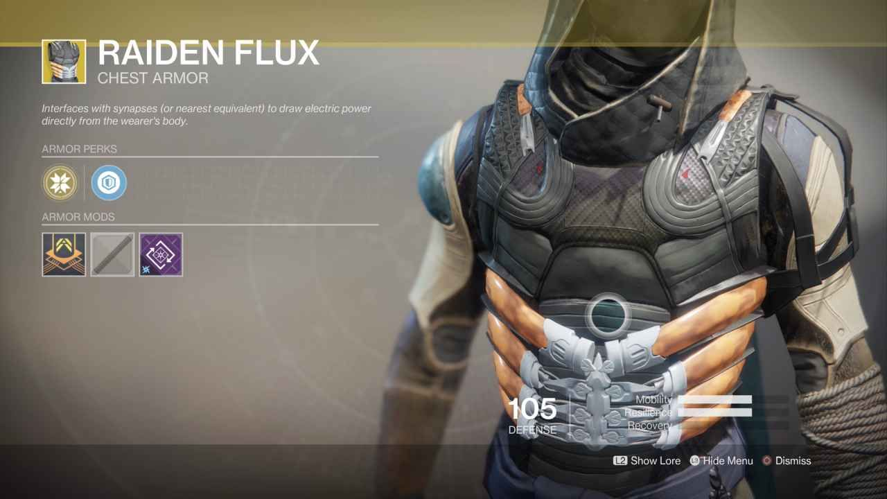 titan exotic chest piece