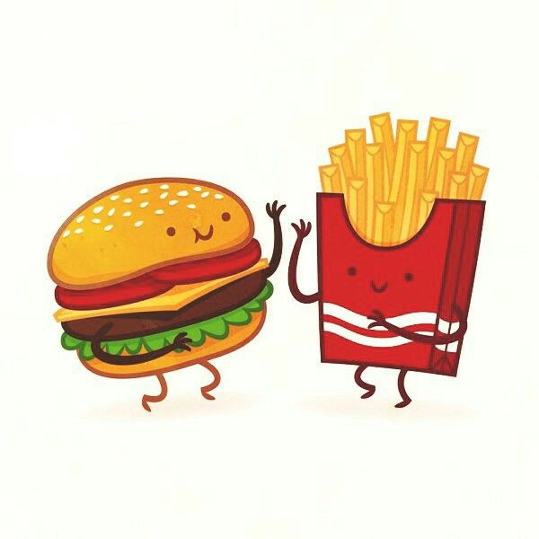 Humburger Et Frite Kawaii Dessin Hamburger Hamburger Dessin Dessin Kawaii