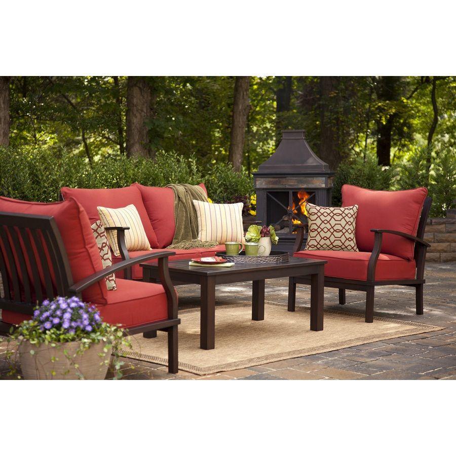Patio Cozy Outdoor Furniture Design With Allen u0026 Roth