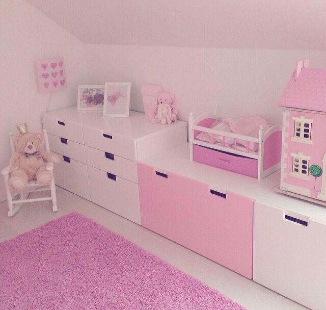 Ikea stuva evi kinderzimmer kinder zimmer en kinderzimmer ideen - Barbie kinderzimmer ...