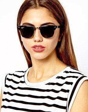 da71a60b1fa get 18 ray ban rb3016 clubmaster sunglasses mock tortoise arista frame  4eb60 6c711