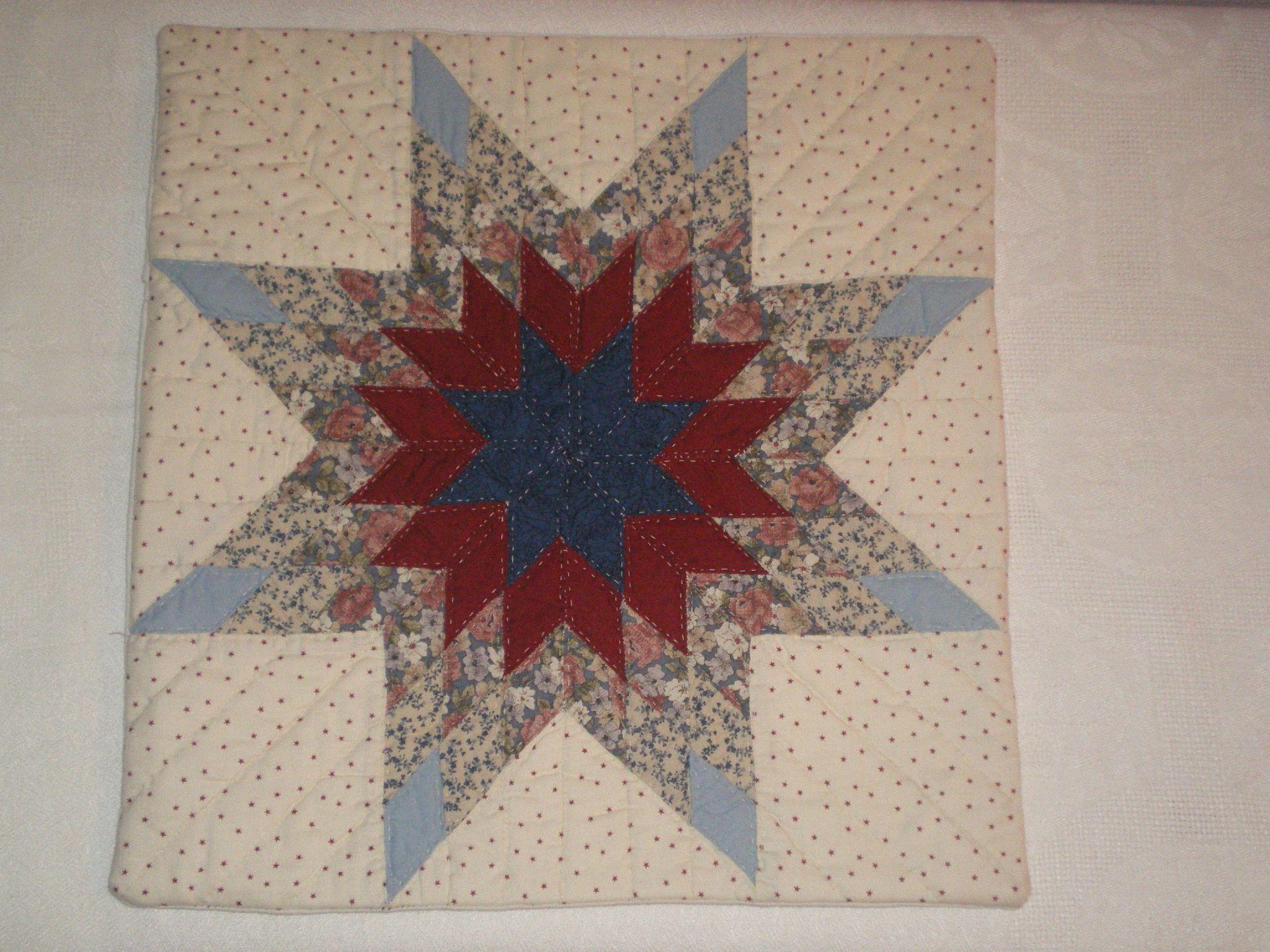 Comment Nettoyer Des Coussins De Caravane coussin etoile patchwork | coussin étoile, coussin, patchwork